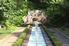 Casa Blanca Fountain Stock Footage