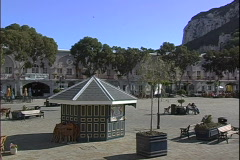Casemates-ws-pan - stock footage