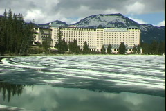 Chateau Lake Louise Stock Footage