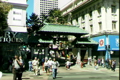 Chinatown Gate Stock Footage