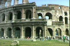 Coliseum-tilts-ws Stock Footage