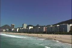 Copa Beach-Corcavado-xws-z Stock Footage