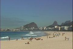 Copa Beach-xws Stock Footage