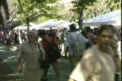 Stock Video Footage of Corsica Fair-pan