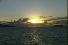 Family Islands Dawn - stock footage