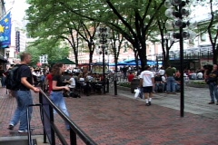 Faneuil People Stock Footage