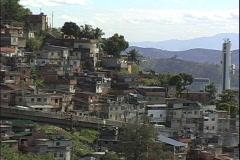 Favelas-zoom Stock Footage