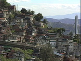 Stock Video Footage of Favelas-zoom