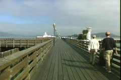 Fisherman's Wharf Pier Stock Footage
