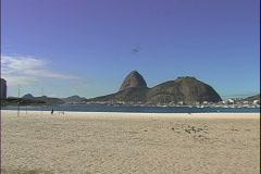 Flamengo Beach-ws-zoom Stock Footage