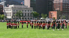 Governor General's Foot Guards Stock Footage