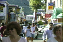 Front Street Stock Footage