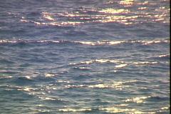 Glimmering Sea Stock Footage