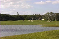 Golf Course-ws Stock Footage