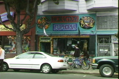 Haight Store Stock Footage