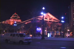 Harrah's Casino-ws Stock Footage