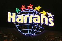 Harrah's Sign Stock Footage