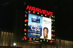 Harvey's Sign-cu Stock Footage