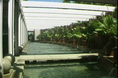 Hotel Arts Fountain Stock Footage