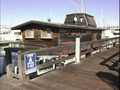 Stock Video Footage of Houseboats-pan