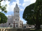 Humacao Cathedral-pan Stock Footage