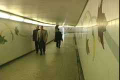 Hyde Park Tunnel Stock Footage
