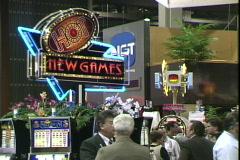 IGT Exhibit Stock Footage