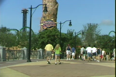 Islands of Adventure-ws Stock Footage