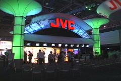 JVC Exhibit Stock Footage