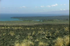 Kiholo Bay Lava Field Stock Footage