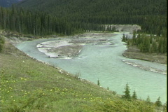 Kootenay River Bend Stock Footage