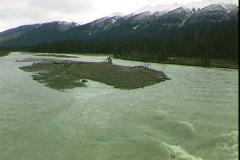 Kootenay River Rapid - stock footage