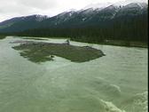 Kootenay River Rapid Stock Footage