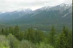 Kootenay Valley-pan Stock Footage