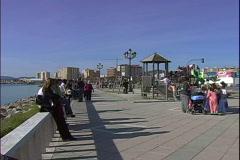 La Linea Playground Stock Footage
