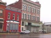 Leadville Street-pan Stock Footage