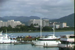 Leaving Cairns Stock Footage