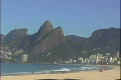 Leblon-Ipanema Beach-xws Stock Footage