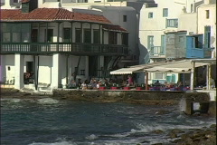 Little Venice Cafe Stock Footage