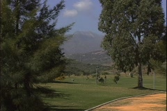 Marbella Golf-xws Stock Footage