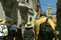 Mdina Alley Stock Footage