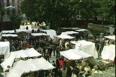 Medieval Festival-ws Stock Footage