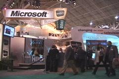 Microsoft Exhibit Stock Footage