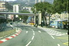 Monaco Corniche-pov Stock Footage