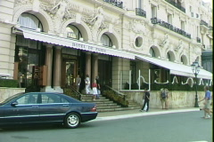 Monaco Hotel de Paris Stock Footage