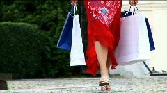 Fun Shopping Lifestyle Stock Footage
