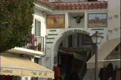 Museo Taurino-zoom Stock Footage