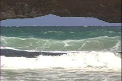 Natural Bridge Underwater Stock Footage