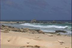 North Shore Beach-ws-zoom - stock footage