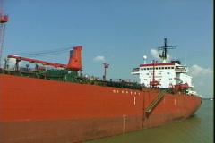 Oil Tanker-pov Stock Footage